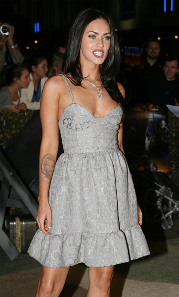 Celebrity Tattoos Megan Fox