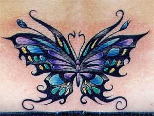 butterfly tattoos designs on foot. The Meaning Behind Butterfly