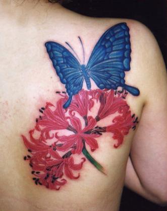 butterflyflowertat