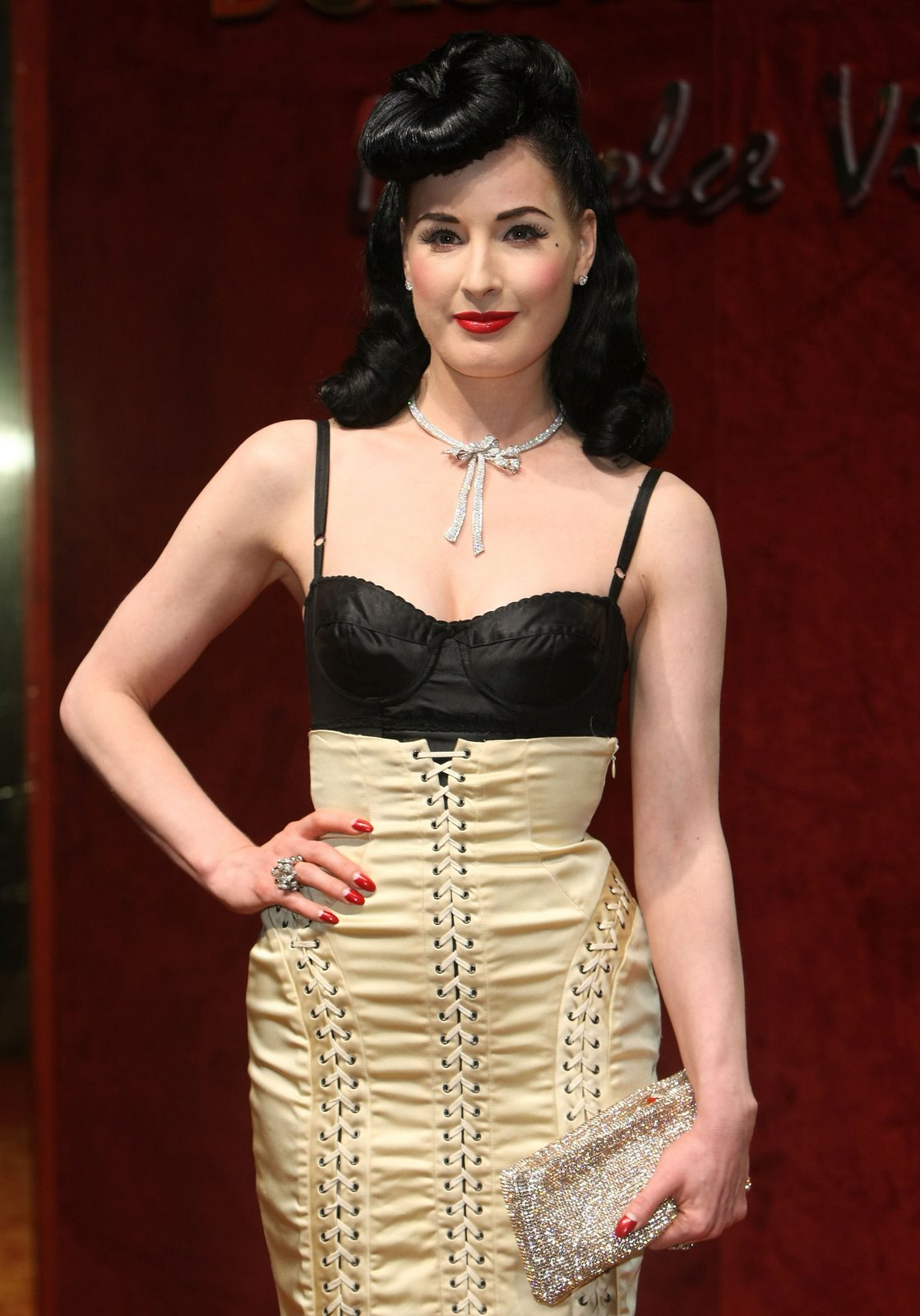 Dita Von Teese Talks Tattoos